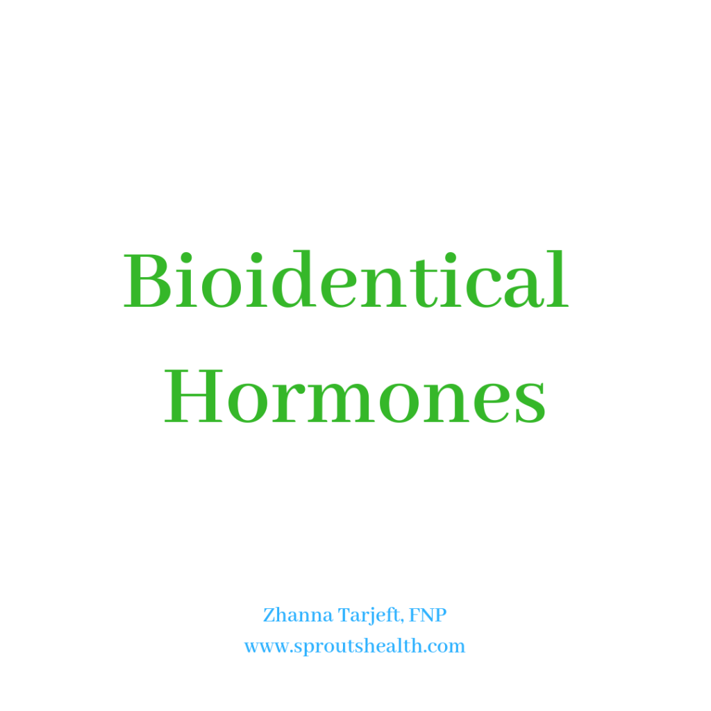 Bioidentical Hormone Replacement Therapy | Sprouts Health